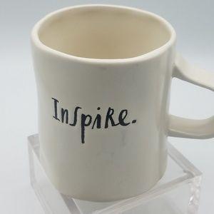 Rae Dunn coffee cup  Inspire